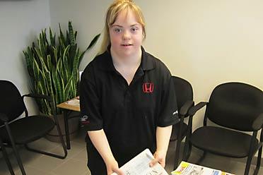 Jessie at Honda